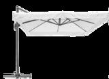 Zweefparasol Brest 300 x 400 cm wit _