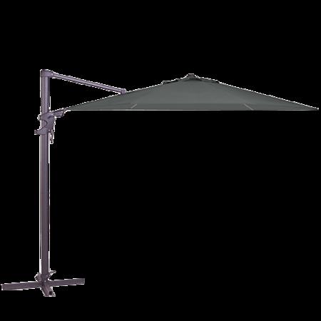 Zweefparasol Monaco Flex Rond 330x330 Grey